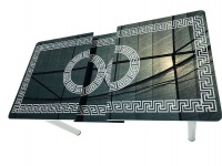 Decorist Home Gallery Mercan - Rectangle Black Surface Dining Table Photo