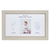 Splosh Baby Hand & Foot Print Frame Photo