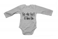 1. Birth - LS - Baby Grow Photo