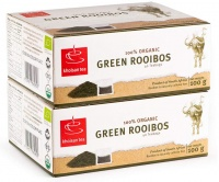 Khoisan Tea 100% Organic Green Rooibos 2 x 100g Packs Photo