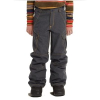 Burton Boys' Exile Cargo Pant - Blue Photo