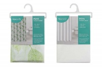 2 Shower Curtains.Green Photo
