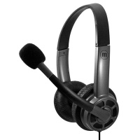 Maxell HS-HMIC Mid Size USB Headset with BOOM Microphone Photo