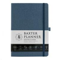 Christian Art Gifts Baxter Undated Planner - Navy Photo