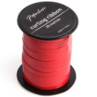 AK Christmas Wrapping - Red Glossy Curling Ribbon - 20 Metres Photo