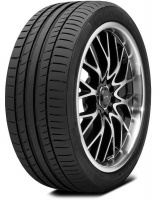 Continental 235/55R18 100V FR ContiSportContact 5 SUV - Tyre Photo
