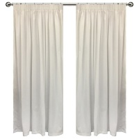 Ready made curtains-White Photo