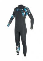 Equation 4/3 Front Zip Wet Suit - Black Photo