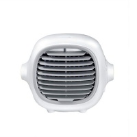 Portable Air Cooler Fan Conditioner - White Photo