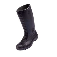 Bata - Safety Gumboot with Steel Toe Cap - Black Photo
