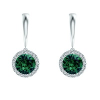 Civetta Spark Helena earring - Swarovski Emerald Crystal Photo
