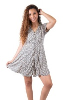 SKA Pattern Button Dresses Photo