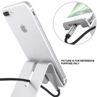 JB LUXX Desktop Stand For Mobile Phones Tablets iPad - Silver Photo