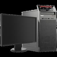 "Lenovo ThinkCentre Edge 72 - Intel i3 Tower 19"" Monitor Photo"