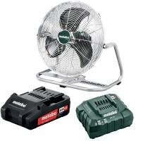 Metabo - Cordless Fan - AV 18 - Including Battery & Charger Photo
