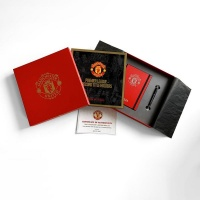 Manchester United FC 2021 Musical Gift Set Box Calendar Diary pen Photo