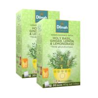 Dilmah - Rooibos Holy Basil Ginger Lemon & Lemongrass - 40 Tagged Tea Photo