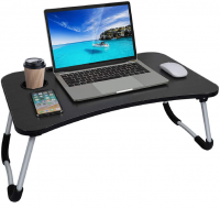 JD Accessoriez Smart Multifunctional Portable with Tablet and Cup Holder - Brown Photo
