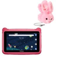 "Prestigio 7"" Pink Kiddies Wifi Tablet and Dino Stand with Bunny Headphones Photo"