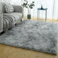 150 x 180cm Plush Fluffy Carpet -Shaggy Foldable Rug Photo