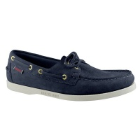 Sebago Men's Footwear Docksides Portland Suede Blue Navy Photo