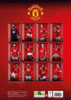 Manchester United FC 2021 A3 Wall Calendar Photo