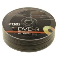 TDK DVD-R 25PK Recordable Shrink Photo