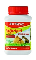 Bob Martin - Arthripet Tablets - Extra Strong - 30 Tablets Photo