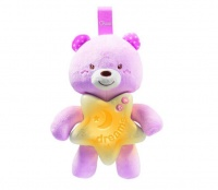 chicco First Dreams Goodnight Bear - Pink Photo