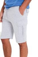 I Saw it First - Mens Light Grey Marl Handley Juice Combat Shorts Photo