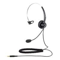 Calltel T800 Mono-Ear Noise-Cancelling Headset – Single 3.5mm Jack Photo