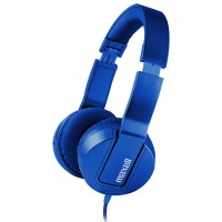 Maxell SMS-10 METALZ Mid Size Headphones - Sapphire Photo