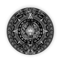 Coasters X6 Mayan Calendar-95mm Radius - Ibala Laser Solutions Photo