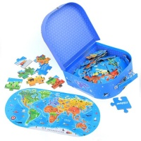 Mideer Our World Puzzle Box: 100 Pieces Photo
