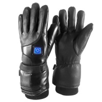 Motolab PU Leather Electric Heated Gloves 4000 mAh Photo