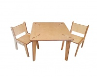 Squickle Squickel Kids Table and Chair Set Photo