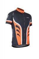 Merrell Eden Cycling Jersey - Black / Orange Photo