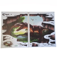 4aKid 3D Wall or Floor Sticker - Dinosaur Photo