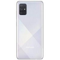 Samsung A71 SS Metallic Silver Cellphone Photo