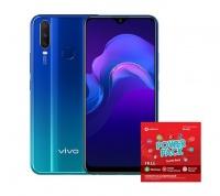 Vivo Y12 64GB Single - Aqua Blue Cellphone Photo