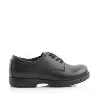 Green Cross 4171C Boys School Shoe Lace Up - Csi Black Photo