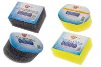 Bath Sponge Exfoliating Bundle - 4 Sponges Photo