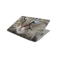 Laptop Skin/Sticker - Blue Eyed Cat Face Photo