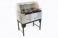 Aloma Double Gas Deep Fryer Photo