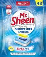 Shield Chemicals Shield Mr Sheen Automatic Dishwasher Tablets - 48 Tablets Lemon Photo