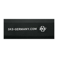 SKS Germany SKS Chain Stay Protector for Bicycles Neoprene Chainstay Protector Photo
