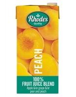 Rhodes 100% Fruit Juice Peach 6 x 1 LT Photo