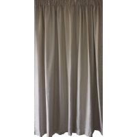 Matoc Readymade Curtain -Lined Weave -Taped -Cream Photo