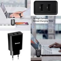 Baseus 10.5W Speed Mini USB Type-A Wall - Black Cellphone Cellphone Photo