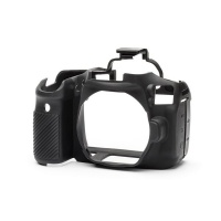 EasyCover PRO Silicon DSLR Case for Canon 90D - Black Digital Camera Photo